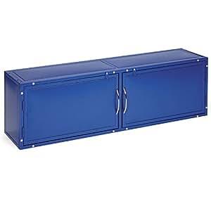 Master Equipment Color Overhead Tub Cabinet, Blue