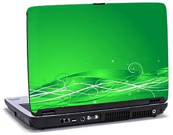 Remolino en verde - vinilo para ordenador portátil para Dell Inspiron 1545 portátiles: Amazon.es: Electrónica