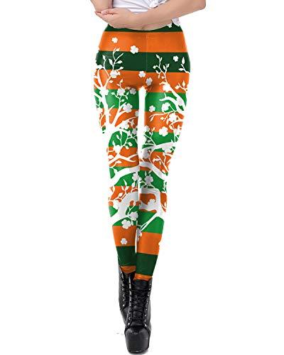 Women's Costume St. Patrick's Day Lucky Leprechaun Shamrock Green Irish -