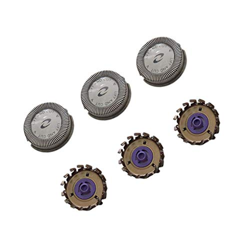 - 3 Pcs Replacement Shaver for Replacing Heads Shaver Blades Norelco HQ5