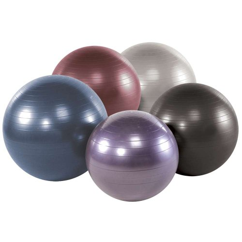 Power Systems VersaBall Pro Stability Ball, 65cm, Jet Black (80115) (Pump Thera Power Band)
