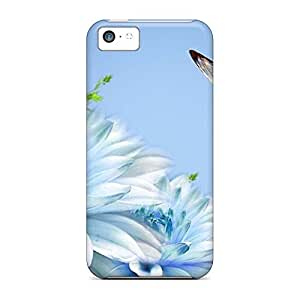 High-end mobile phone cases Awesome Phone Cases High iphone 4 /4s - soft blue blue blue
