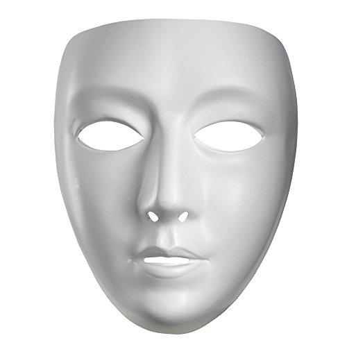 Blank Female Adult Costume Mask