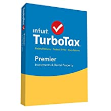 Intuit 426888 TurboTax 2015 Premier With E-file + State - 1 User - Tax Management - CD-ROM - PC, Intel-based Mac