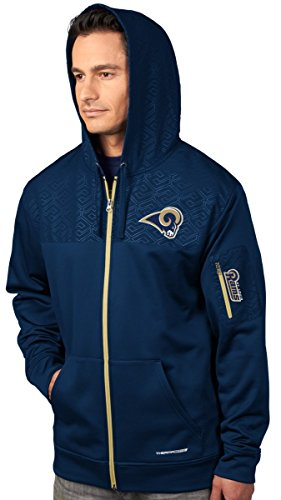 Base Therma Sweatshirt (VF St. Louis Rams Majestic Action Men's F/Z Therma Base Hooded Sweatshirt)