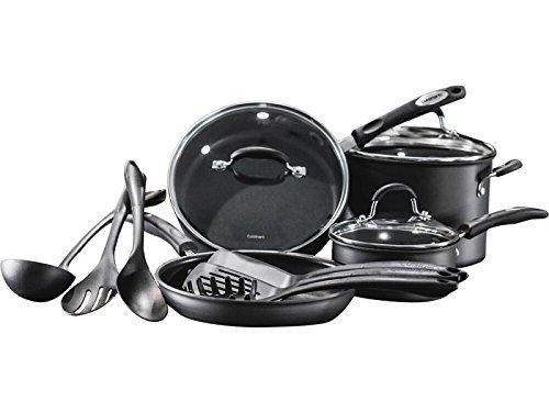 Cuisinart - Pro Classic 13-Piece Hard Anodized Cookware Set Pro 13 Piece