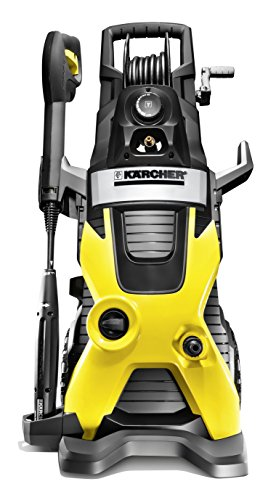 Cold water pressure washer in yellow and black.