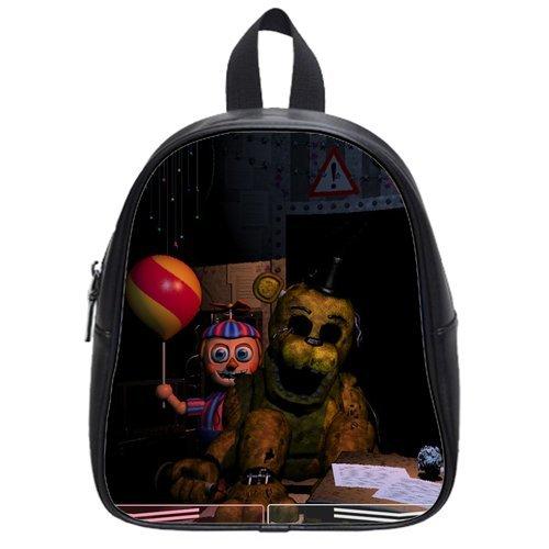 Backpacker Halloween Costume (FNAF Five Nights At Freddy's Figure Custom Backpack (Small))