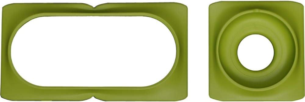 Boston Green Minigarden Color Rings Basic S UNO; W/ählen Sie Ihre Lieblingsfarbe und kombinieren Sie sie mit verschiedenen Pflanzen und Umgebungen