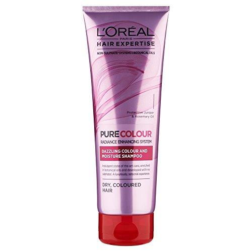 L'Oréal Paris Hair Expertise EverPure Colour Care & Moisturising Shampoo für gefärbtes Haar, 250ml