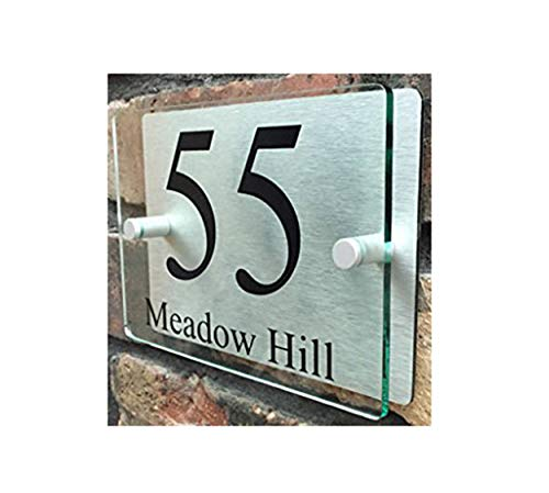 (ThedisplayDeal House Number Plaque, Home Address Plate, 8