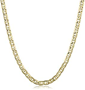 Men's 14k Yellow Gold 2.3mmMariner Chain Necklace, 18""