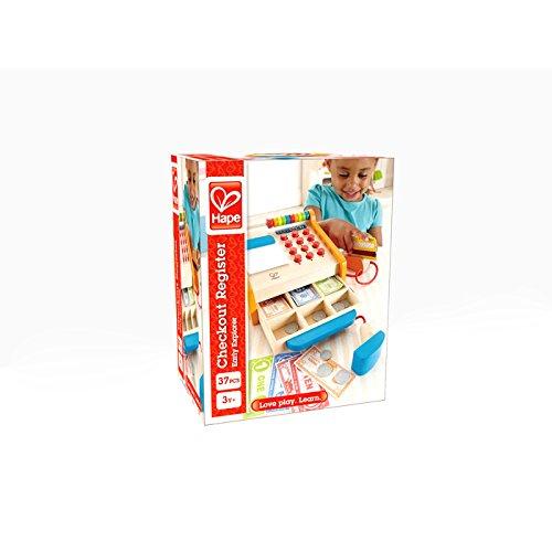 Hape e3121 caja registradora de juguete - Caja registradora juguete ...