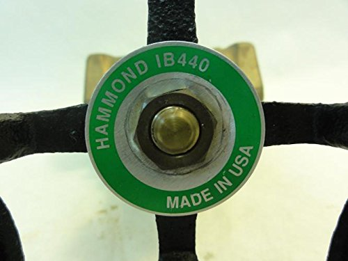 2 NPT Hammond IB440-2 Globe Valve