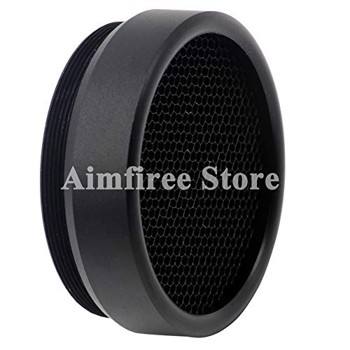 Aimfiree 32mm Airsoft Killflash Anti-Reflection Sunshade Protective Kill Flash Cover Cap for Optic Sight Scope (32mm Scope Sunshade)