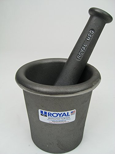 Royal Gold Mortar and Pestle