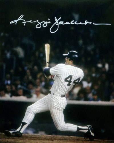 Reggie Jackson - Reprint 8x10 inch Photograph - NEW YORK YANKEES MLB Baseball VINTAGE
