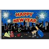 HAPPY NEW YEAR 3'x5' Flag
