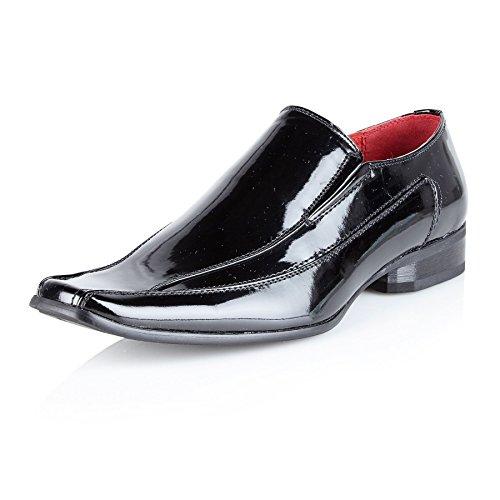 vestito Custodia festa scarpa Smart della in uomo da PT dimensioni formali Shoe Black per da pelle Casual Scarpe Avenue 5FqOaP