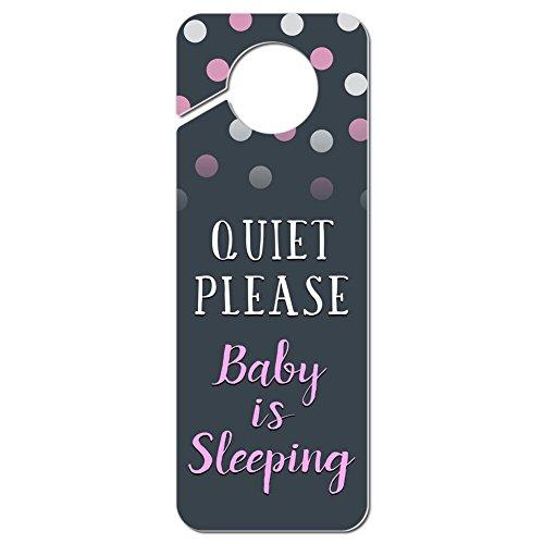 quiet please door sign - 9