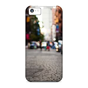 High Quality Shock Absorbing Cases For Iphone 5c-city Street