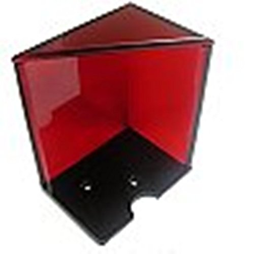 Red 6 Deck Acrylic Discard Holder - Casino Quality! by TMG