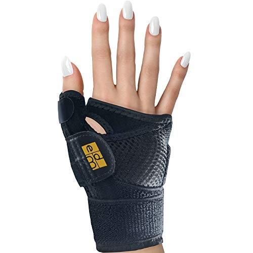CMC Joint Thumb Splint for Arthritis and Carpal Tunnel Syndrome by Everyday Medical I Thumb Immobilizer Brace for Arthritis, Carpal Tunnel, CMC Joint, and Tendonitis I Stabilizer Support Splint ()