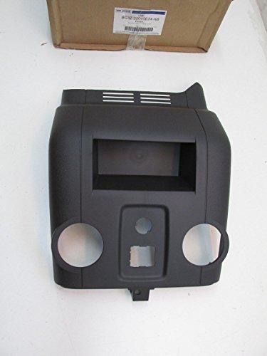 2011-2015 Ford F250 F350 Super Duty Rear Black Center Console Trim Panel OEM NEW