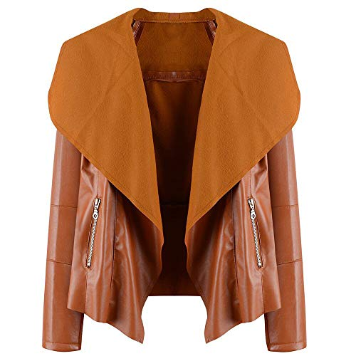 Price comparison product image HYIRI Temperament Top Blouse Overcoat Women Zipper Detail Lapel Jacket