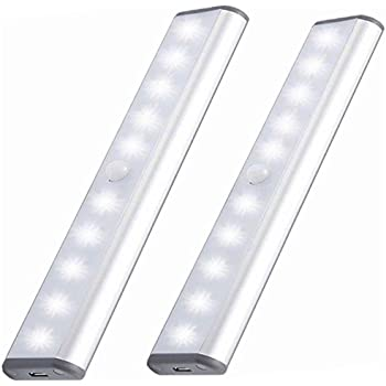 Stick On Anywhere Portable Little Light Wireless LED Under Cabinet Lights  10 LED Motion
