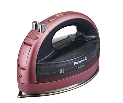 Panasonic cordless steam W head Iron NI-WL703-P by Panasonic