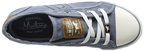 Mustang Women's 1099-302 Trainers Blue (Himmelblau 807) o6DaZO8mr