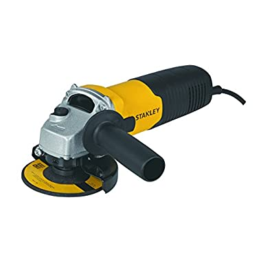 STANLEY STGS6100 600W, 100mm Small Angle Grinder (Yellow and Black) 7
