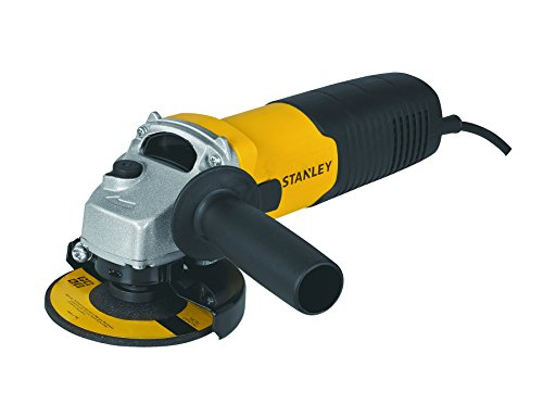 STANLEY STGS6100 600W, 100mm  Small Angle Grinder (Yellow and Black)
