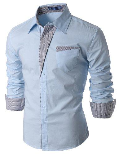 Buy light blue and white checkered dress - 9