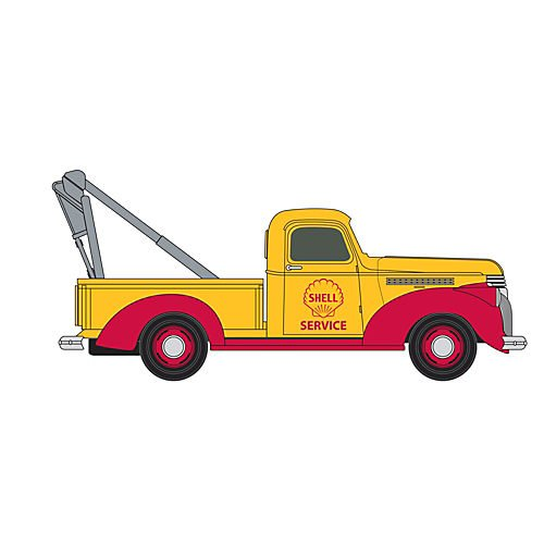cker Truck, Shell Oil Towing (Chevy Commercial Truck)