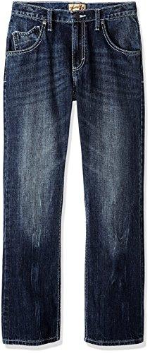 - Wrangler Boys' 20X Vintage Boot Cut Jean, Canyon Lake, 10 Husky