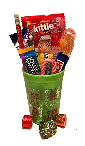 Merry Christmas Gift! -Candy Bouquet- Great Gift Basket for Wishing a Merry Christmas! - Several Choices (Merry Christmas!)