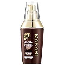 Makari Exclusive Skin Toning Serum 1.7oz – Lightening, Brightening & Toning Body Serum with Organiclarine™ – Advanced Whitening for Dark Spots, Scars, Sun Patches, Hyperpigmentation