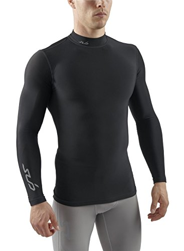 Sub Sports Mens Winter Warm Mock Turtle Neck Long Sleeve Thermal Base Layer -M (Soccer Turtleneck)