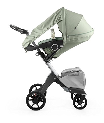 (Stokke Stroller Summer Kit, Textiles Only, Flora Green)