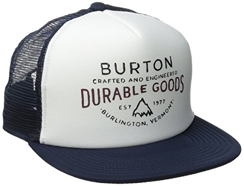 Burton Men's I-80 Trucker Hat, Eclipse Durable Goods, One Size (Good Trucker Hat)