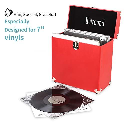 Retround Vintage Vinyl Record Storage
