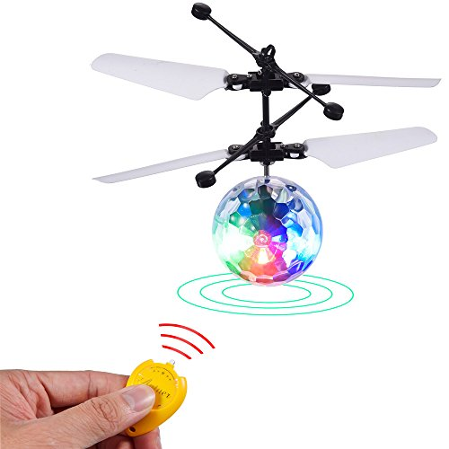 Hot Antner RC Flying Ball Infrared Induction Drone LED Lighting Hand Suspension Helicopter for Kid