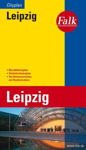 Falk Cityplan Leipzig Taschenbuch – 24. August 2017 OSTFILDERN 382790112X Karten Deutschland