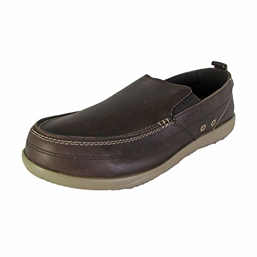 ne Loafer,Expresso/Khaki,7 M US (Croc Leather Loafers)