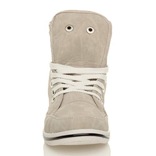 Ajvani , Damen Sneaker Beige