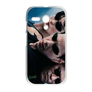 The Matrix Motorola G Cell Phone Case White Omgau