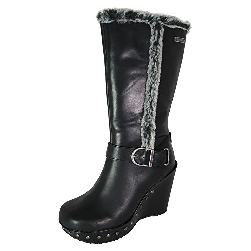 Harley-Davidson Women's Artesia Winter Boot, Black, 8 M US