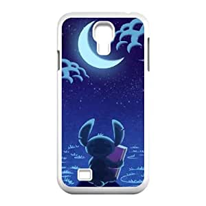 Lilo & Stitch Samsung Galaxy S4 90 Cell Phone Case White Exquisite designs Phone Case KM5H2625